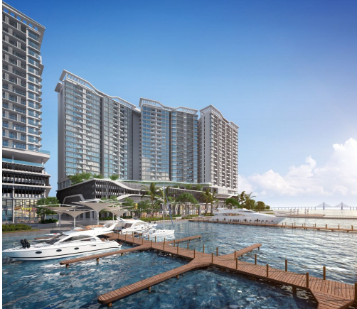 Ideal Property Development Sdn Bhd : Queens waterfront residences phase bayan bay penang